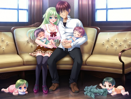 The gallery for --> Anime Baby Twins Boy Girl