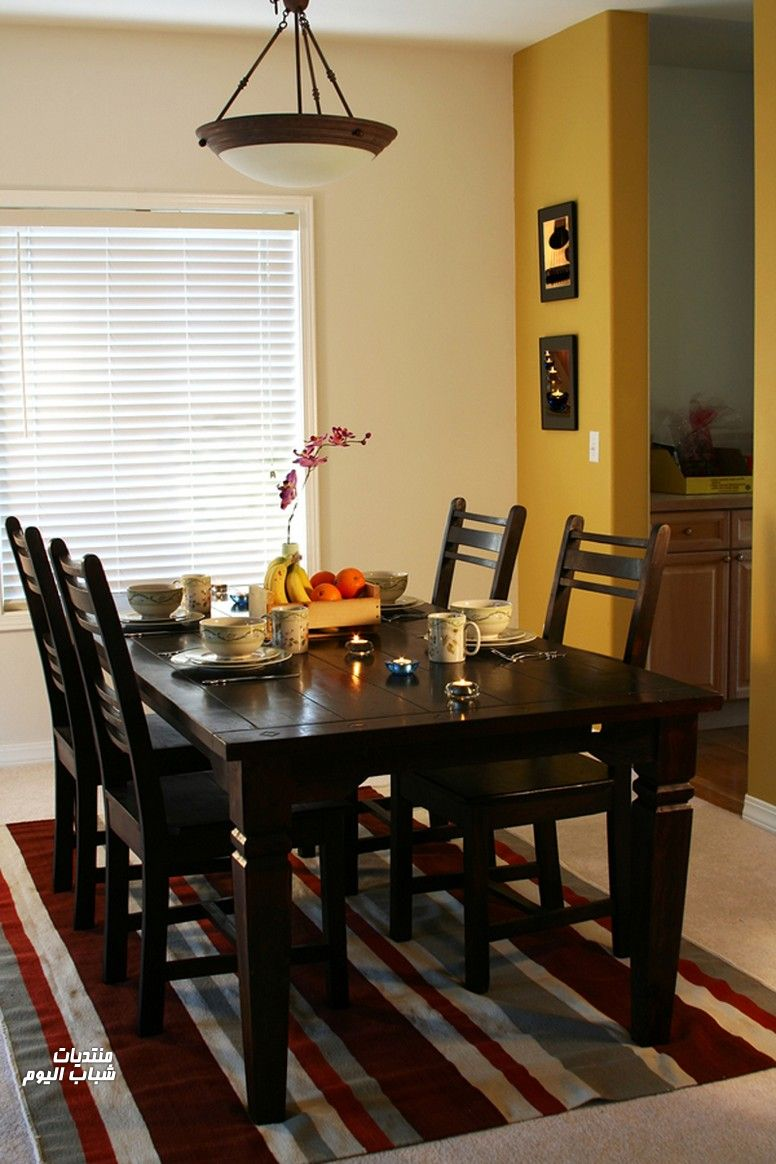 Small Dining Table Design Wooden