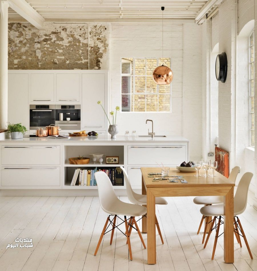 Small Apartment Design With Scandinavian Style That Looks: ديكورات مطابخ جميله 2018 , ديكورات مطابخ راقيه 2018 من Eglal